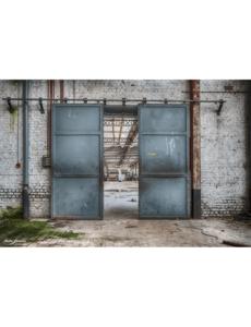 Urban Cotton Wandkleed Spinning Doors