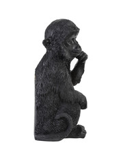 Light & Living Wandornament 9,5x8,5x19,5 cm aap zwart