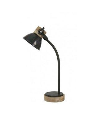 Light & Living Bureaulamp 18x20x55 cm JODY leger groen