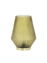 Light & Living Tafellamp LED Ø12x17 cm TOVI glas oker geel