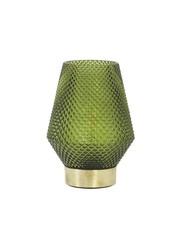 Light & Living Tafellamp LED Ø12x17 cm TOVI glas groen