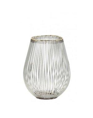 Light & Living Theelicht Ø16x20 cm VENADE antiek zilver