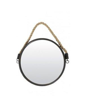 Light & Living Spiegel Ø38 cm Force brons met touw