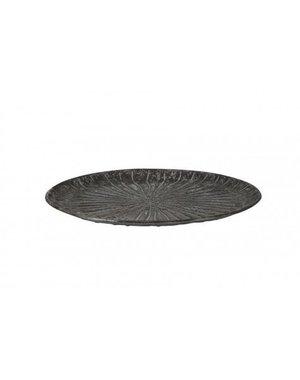 Light & Living Schaal Ø40,5x4 cm HOVAG antiek zilver