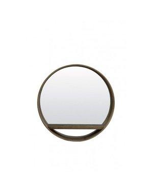 Light & Living Spiegel Ø56 Viria hout