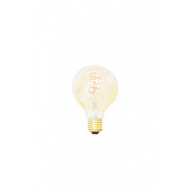 Light & Living Deco LED globe Ø8x11 cm LIGHT 4W amber E27 dimbaar