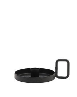 Light & Living Kandelaar Ø15x5,5 cm OEKATA mat zwart