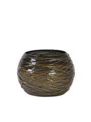 Light & Living Theelicht Ø8x6,5 cm TYSON grijs-goud