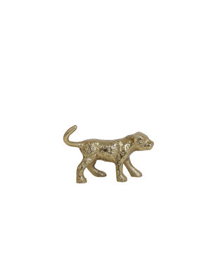 Light & Living Ornament Panter goud 12,5x5x8 cm