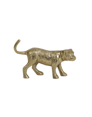 Light & Living Ornament Panter goud 20,5x5,5x13 cm