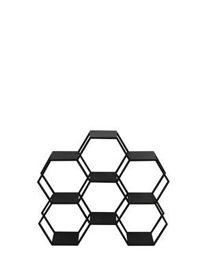 Light & Living Kast open 106x25x90 cm HUAL mat zwart