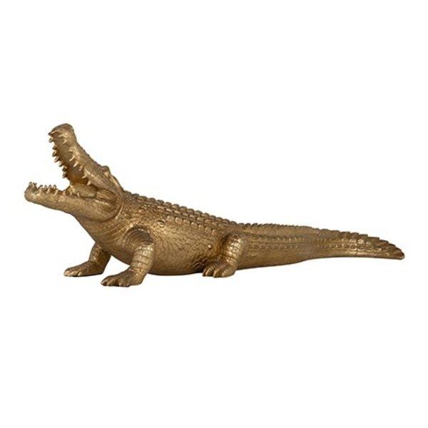 Richmond Interiors  Decoratief beeld Crocodile groot