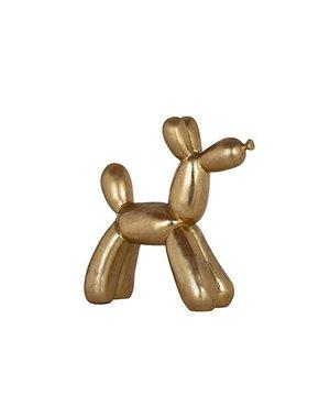 Richmond Interiors - nu 10% korting met kortingscode: Richmond Decoratief beeld hond goudkleurig