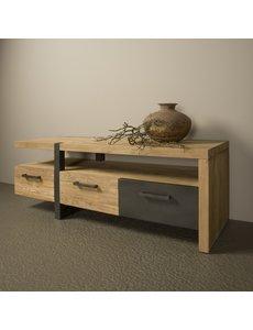 Tower Living TV meubel Lucca teak 3 lades - 145 cm