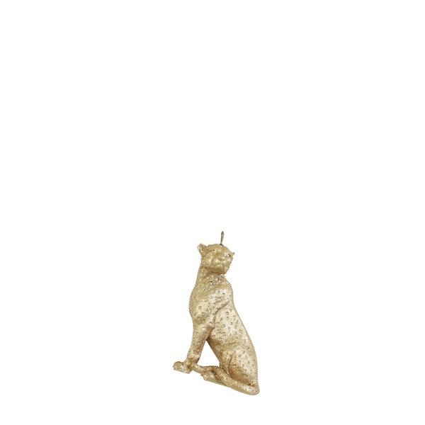 Light & Living Ornament hang 9 cm Cheetah mat goud