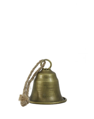 Light & Living Ornament Ø8x6,5 cm BELL brons