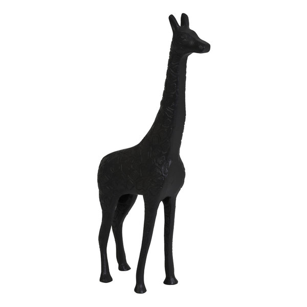 Light & Living Ornament 21x7x46 cm GIRAFFE mat zwart