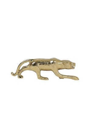 Light & Living Ornament 21x3,5x6,5 cm LEOPARD goud