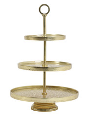 Light & Living Etagere 3 laags LUTEK Goud