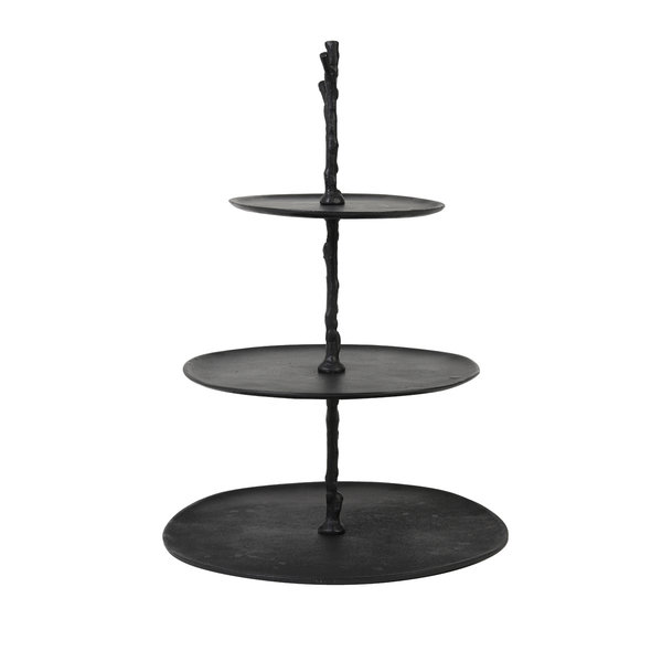 Light & Living Etagere 3 laags TRESA mat zwart