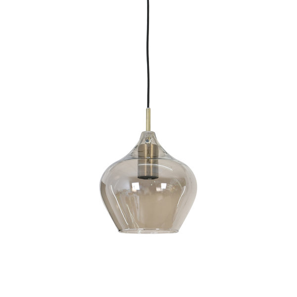 Light & Living Hanglamp RAKEL Antique brass klein