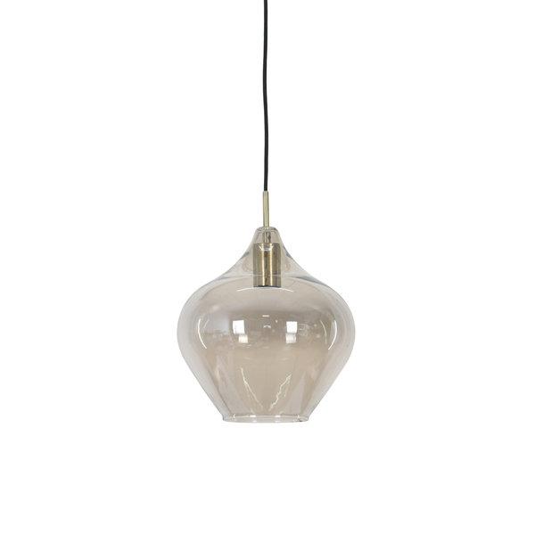 Light & Living Hanglamp RAKEL Antique brass groot