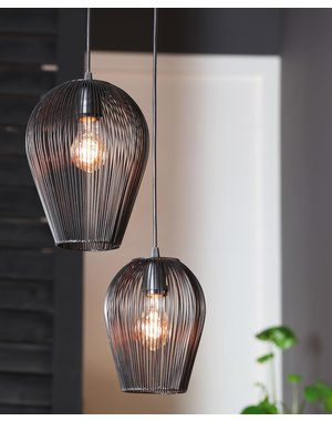Light & Living Hanglamp ABBY in 4 maten en 2 kleuren