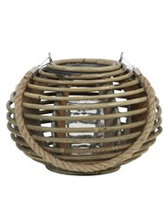 Light & Living Lantaarn TROPEZ Rotan Naturel medium