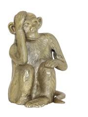 Light & Living Ornament Aap antique brons