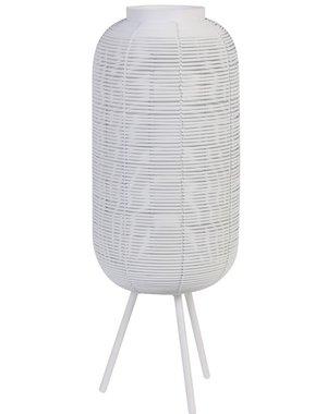 Light & Living Tafellamp TOMEK Matglas Wit klein