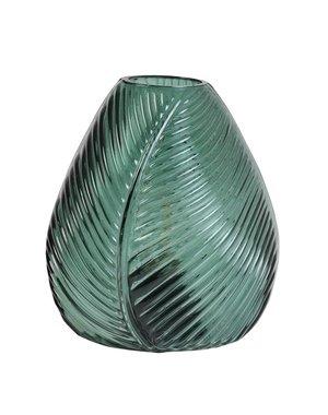 Light & Living Tafellamp LED LEAF Glas Donkergroen