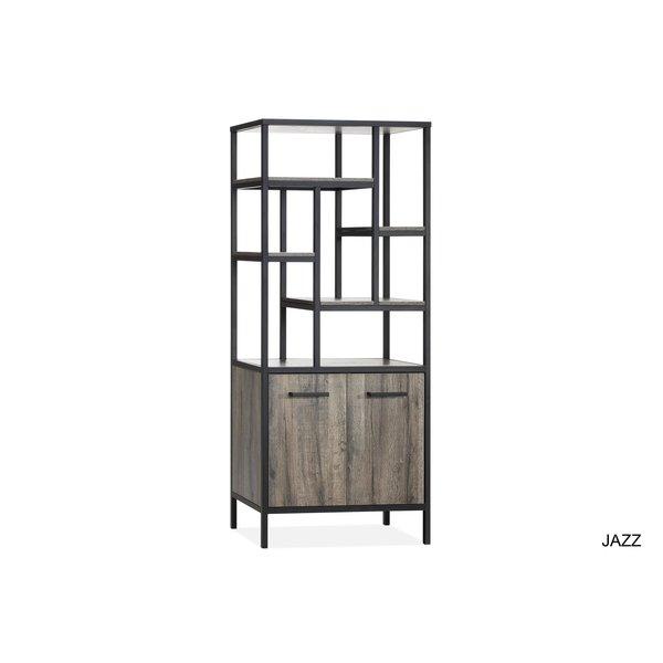 Maxfurn Wandkast Jazz Claywood 2 deurs/7 vakken showroommodel