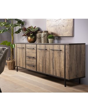 Maxfurn Dressoir Jazz Claywood 3 deurs/3 lades