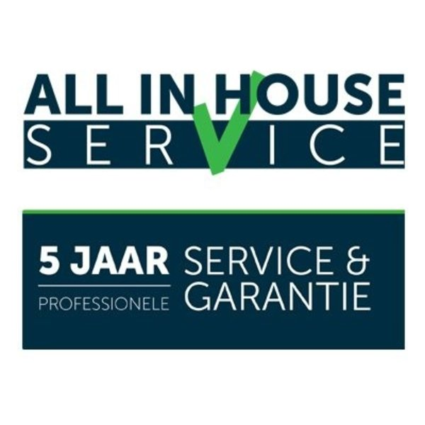 5 jaar All in House garantie