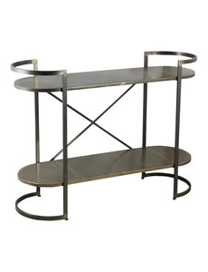 PTMD Moza metal open cabinet metal base S