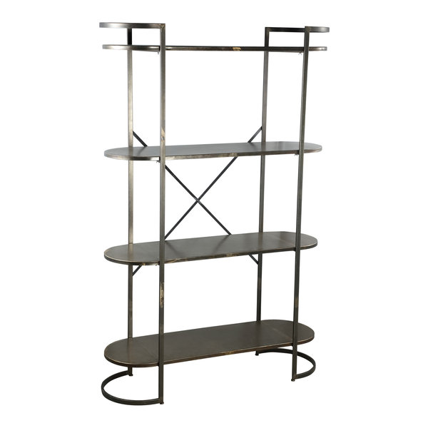 PTMD Moza metal open cabinet metal base L showroommodel