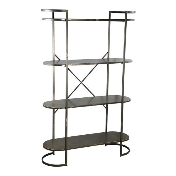 PTMD Moza metal open cabinet metal base L