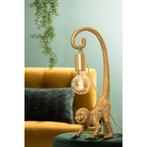 Light & Living Wandornament Aap goud