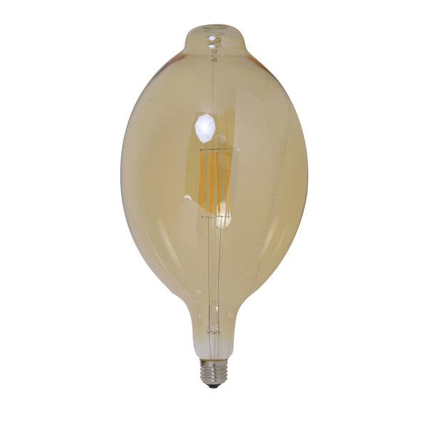 Light & Living Deco LED bulb Ø18x33 cm LIGHT 4W amber E27 dimbaar