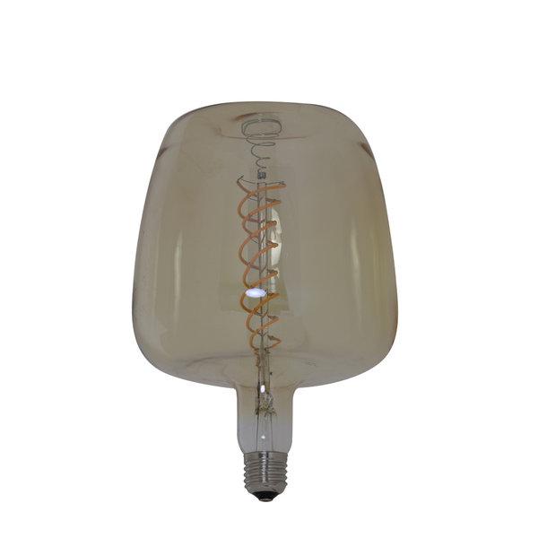 Light & Living Deco LED Ø16x23 cm LIGHT 6W amber E27 dimbaar