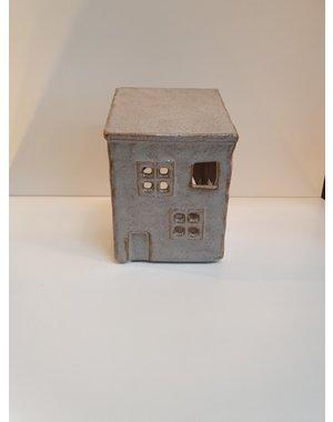 Waxinelichthouder huis klein