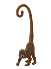 Light & Living Wandornament Aap bruin velvet