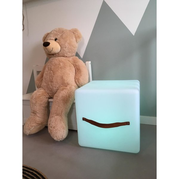 Nikki Amsterdam The.Cube Speaker, lamp en poef of bijzettafel