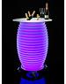 Nikki Amsterdam The.Bar Table -  Bartafel, speaker en verlichting in 1