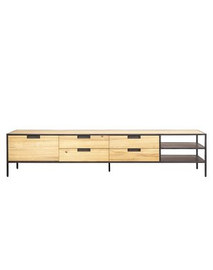 Eleonora Madison light acacia - TV meubel 210 cm