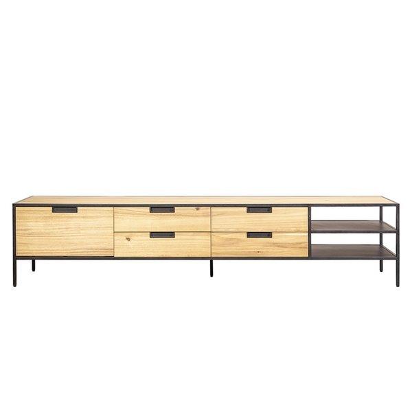 Eleonora Madison light acacia - TV meubel 210 cm