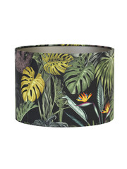 Light & Living Lampenkap Velours Rica Jungle Ø30x21