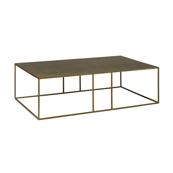 Tower Living Etching coffeetable 135 x 75 x 38 cm
