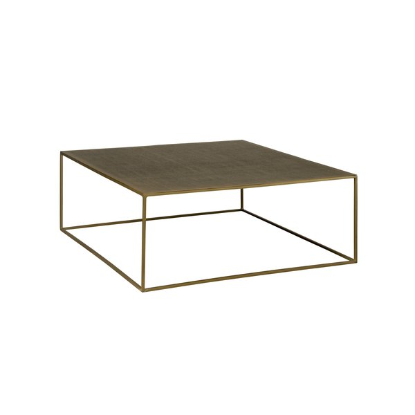 Tower Living Etching coffeetable 100 x 100 x 38 cm