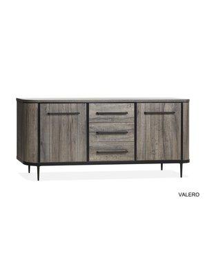 Valero dressoir claywood 2 deurs/3 laden